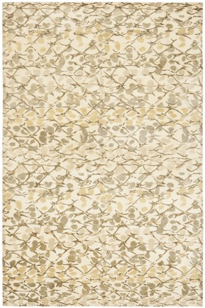Wheat, Beige (MSR-8641C) Contemporary / Modern Area Rug