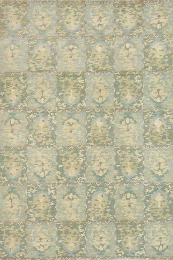 Water (MSR-8625B) Transitional Area Rug