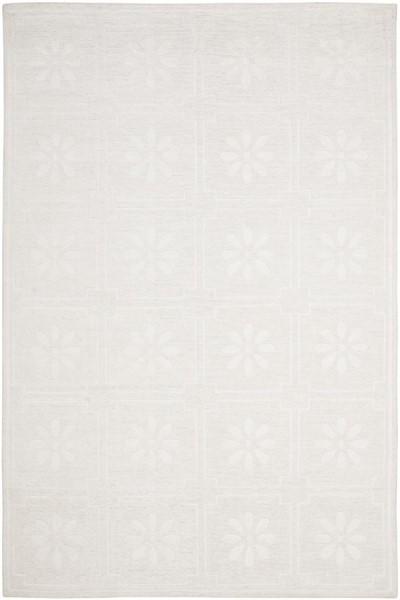 Milk White (MSR-5751A) Floral / Botanical Area Rug