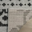 Product Image of Silver, Black (A) Southwestern / Lodge Area Rug