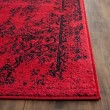 Product Image of Red, Black (F) Traditional / Oriental Area Rug
