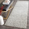 Product Image of Ivory, Charcoal (N) Chevron Area Rug