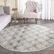 Product Image of Silver, Charcoal (P) Transitional Area Rug