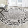 Product Image of Ivory, Silver (B) Traditional / Oriental Area Rug