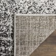 Product Image of Silver, Black (A) Contemporary / Modern Area Rug
