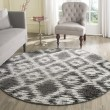 Product Image of Charcoal, Ivory (R) Ikat Area Rug