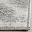 Product Image of Silver, Ivory (B) Ikat Area Rug