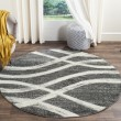 Product Image of Charcoal, Ivory (R) Contemporary / Modern Area Rug