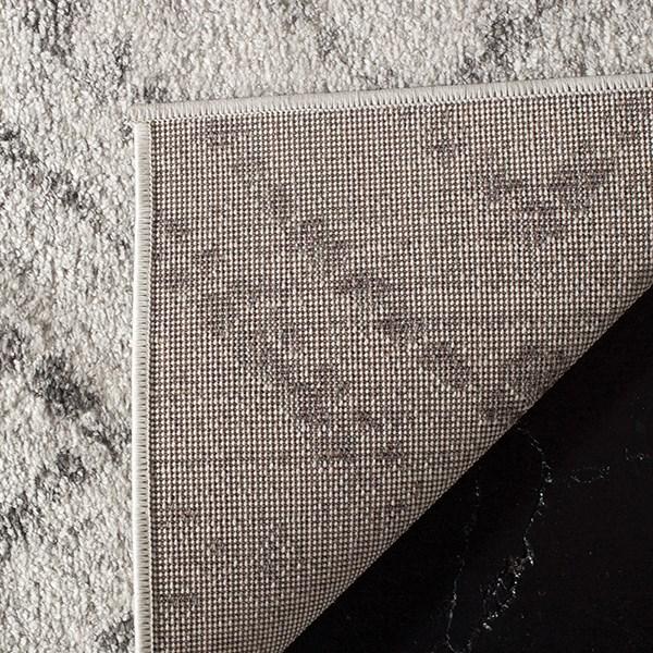 Light Grey, Grey (C) Rustic / Farmhouse Area Rug
