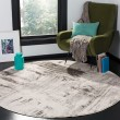 Product Image of Ivory, Grey (C) Abstract Area Rug