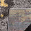 Product Image of Grey, Yellow (H) Abstract Area Rug