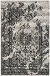 Product Image of Traditional / Oriental Silver, Black (A) Area Rug