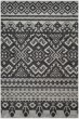 Product Image of Moroccan Silver, Black (A) Area Rug