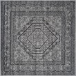 Product Image of Silver, Black (A) Traditional / Oriental Area Rug