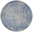 Product Image of Grey, Blue (A) Vintage / Overdyed Area Rug