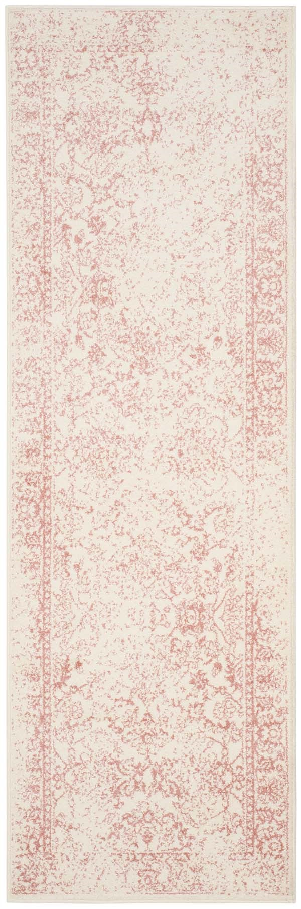 Ivory, Rose (H) Vintage / Overdyed Area Rug