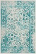 Product Image of Vintage / Overdyed Ivory, Teal (D) Area Rug