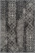 Product Image of Moroccan Black, Silver (C) Area Rug