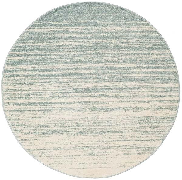 Slate, Cream (T) Transitional Area Rug
