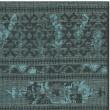 Product Image of Black, Turquoise (56C4) Southwestern / Lodge Area Rug