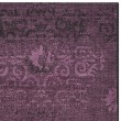 Product Image of Black, Purple (56C7) Damask Area Rug