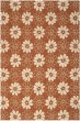 Product Image of Floral / Botanical Rust, Ivory (B) Area Rug