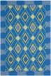Product Image of Southwestern / Lodge Indigo, Yellow (D) Area Rug