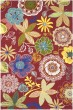 Product Image of Floral / Botanical Red (C) Area Rug