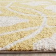 Product Image of Gold, Ivory (D) Floral / Botanical Area Rug