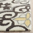 Product Image of Grey, Ivory (A) Moroccan Area Rug