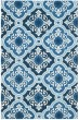 Product Image of Moroccan Navy, Blue (B) Area Rug
