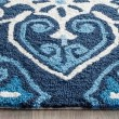 Product Image of Navy, Ivory (A) Moroccan Area Rug