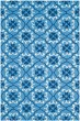 Product Image of Moroccan Blue, Ivory (A) Area Rug