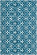 Product Image of Navy, Ivory (H) Moroccan Area Rug