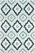 Product Image of Moroccan Ivory, Navy (N) Area Rug