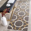 Product Image of Grey, Ivory (B) Contemporary / Modern Area Rug