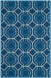 Product Image of Moroccan Navy, Ivory (H) Area Rug