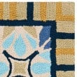 Product Image of Tan, Blue (A) Moroccan Area Rug
