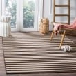 Product Image of Ivory, Brown (A) Striped Area Rug