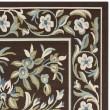Product Image of Chocolate, Aqua (0623) Outdoor / Indoor Area Rug