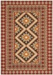 Product Image of Southwestern / Lodge Red, Natural (0334) Area Rug