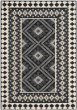 Product Image of Southwestern Black, Cream (0421) Area Rug