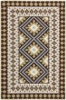 Product Image of Southwestern / Lodge Chocolate, Green (0624) Area Rug
