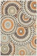 Product Image of Transitional Cream, Chocolate (0712) Area Rug