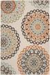 Product Image of Mandala Cream, Terracotta (0715) Area Rug