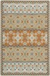 Product Image of Contemporary / Modern Green, Terracotta (0742) Area Rug
