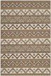 Product Image of Striped Cream, Brown (0215) Area Rug