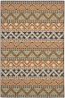 Product Image of Striped Terracotta, Chocolate (0752) Area Rug