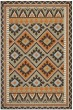 Product Image of Southwestern / Lodge Green, Terracotta (0742) Area Rug
