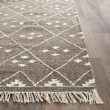 Product Image of Brown, Ivory (A) Southwestern / Lodge Area Rug